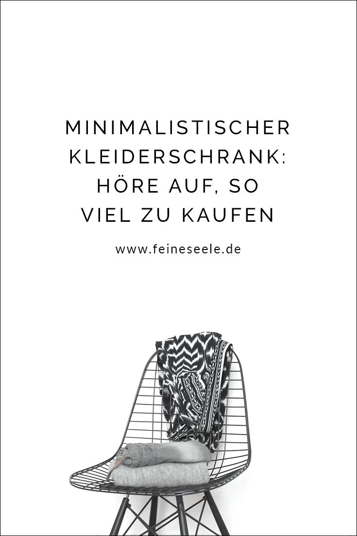 Minimalistischer Kleiderschrank, Stefanie Adam, www.feineseele.de