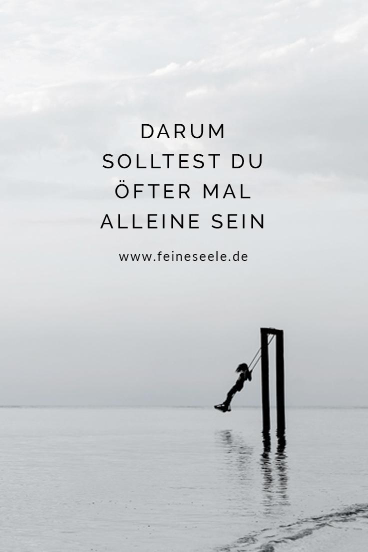Aleine sein, Stefanie Adam, www.feineseele.de