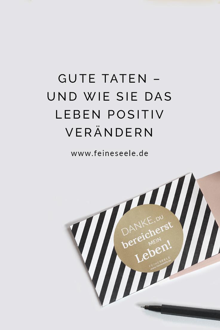 Gute Taten, Stefanie Adam, www.feineseele.de