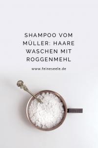 Haare waschen mit Roggenmehl, Stefanie Adam, www.feineseele.de