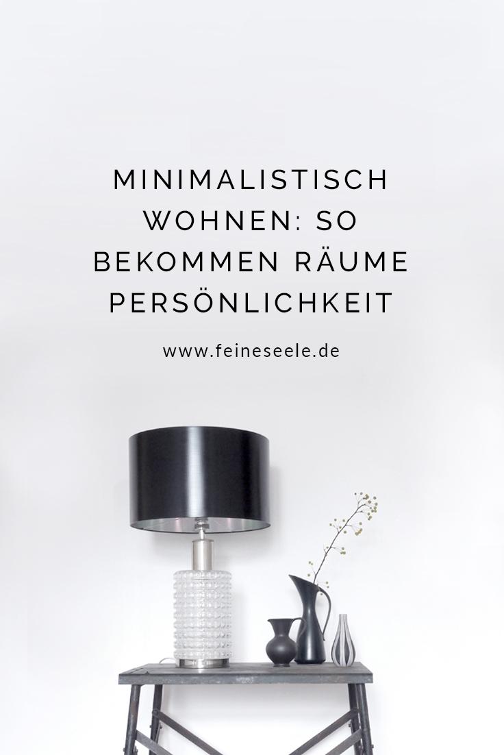 Minimalistisch wohnen, Stefanie Adam, www.feineseele.de