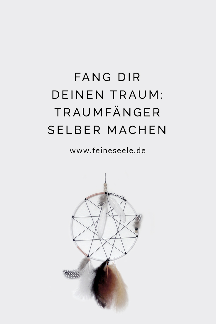Traumfänger selber machen, Stefanie Adam, www.feineseele.de
