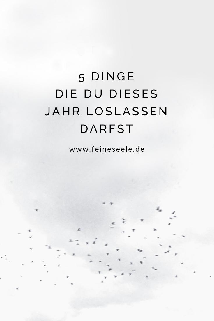 Loslassen lernen // Stefanie Adam, www.feineseele.de
