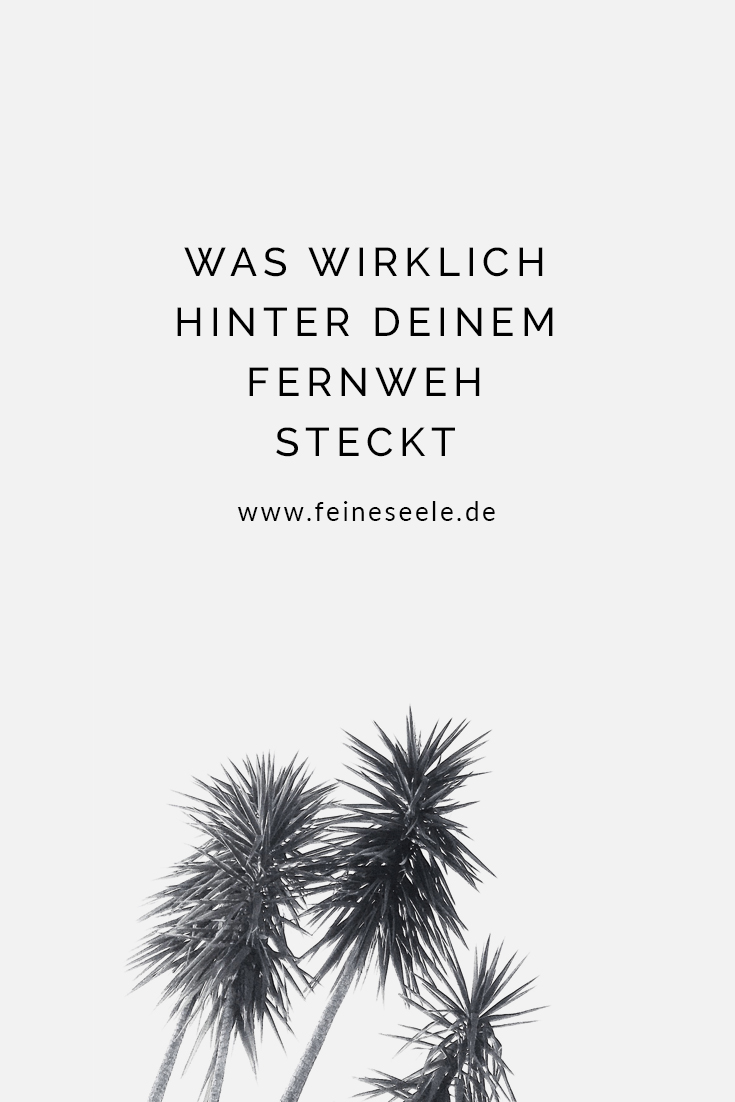 Fernweh: Palmen vor Himmel